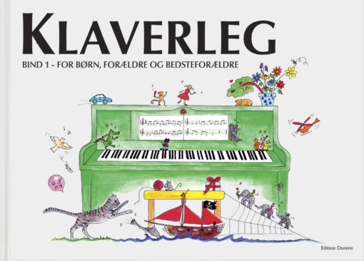 Cover klaverleg bind 1