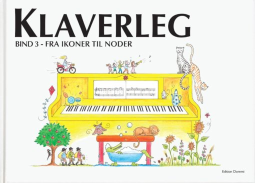 Cover klaverleg bind 3