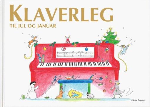 Cover klaverleg julebogen