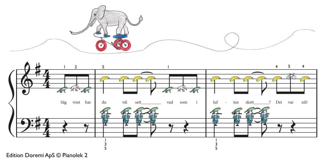 Den cyklande elefanten