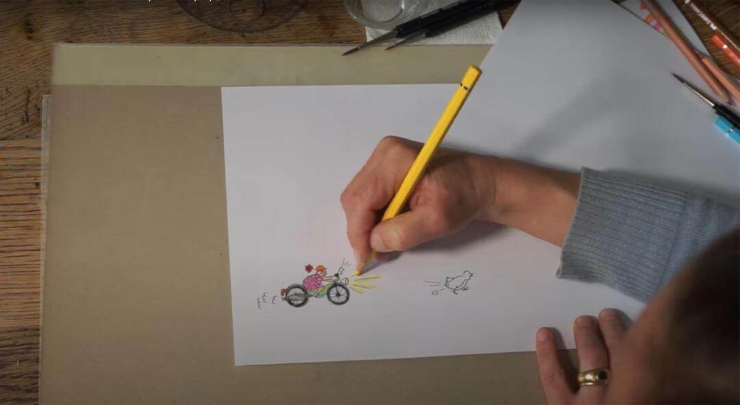 Illustrator sandra schoeller olsen
