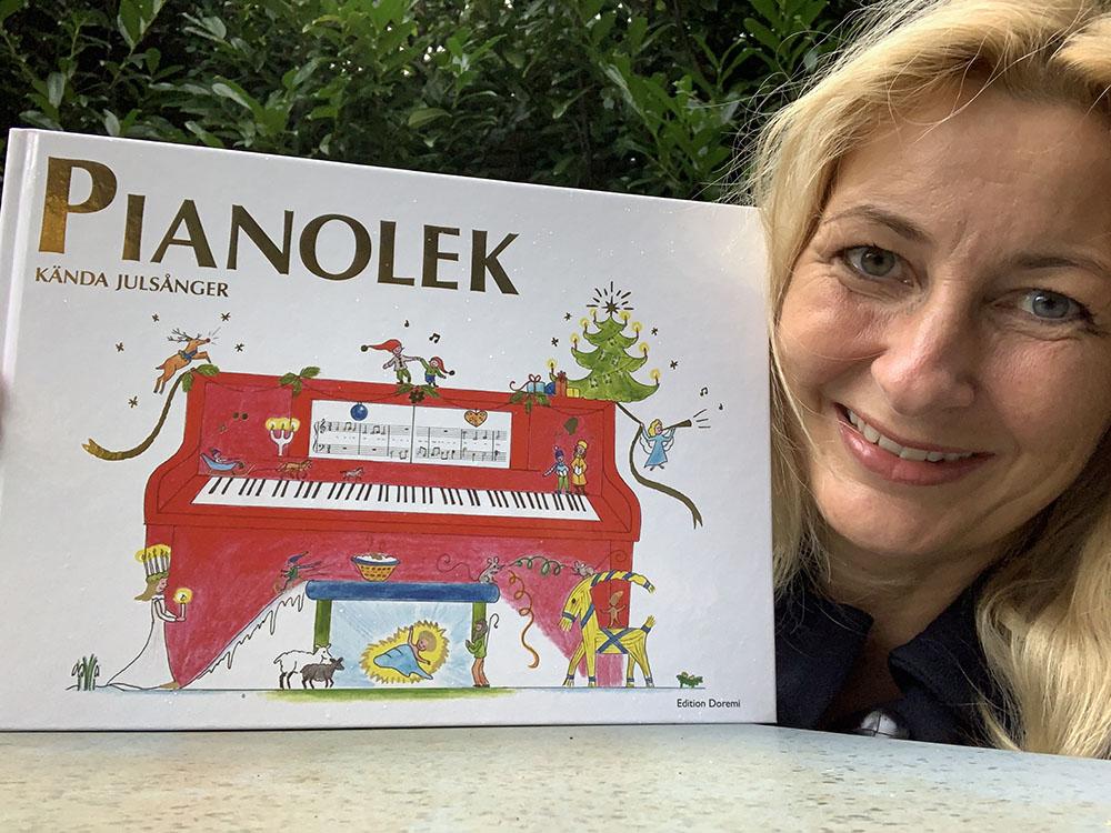 Pianolek, kända julsånger