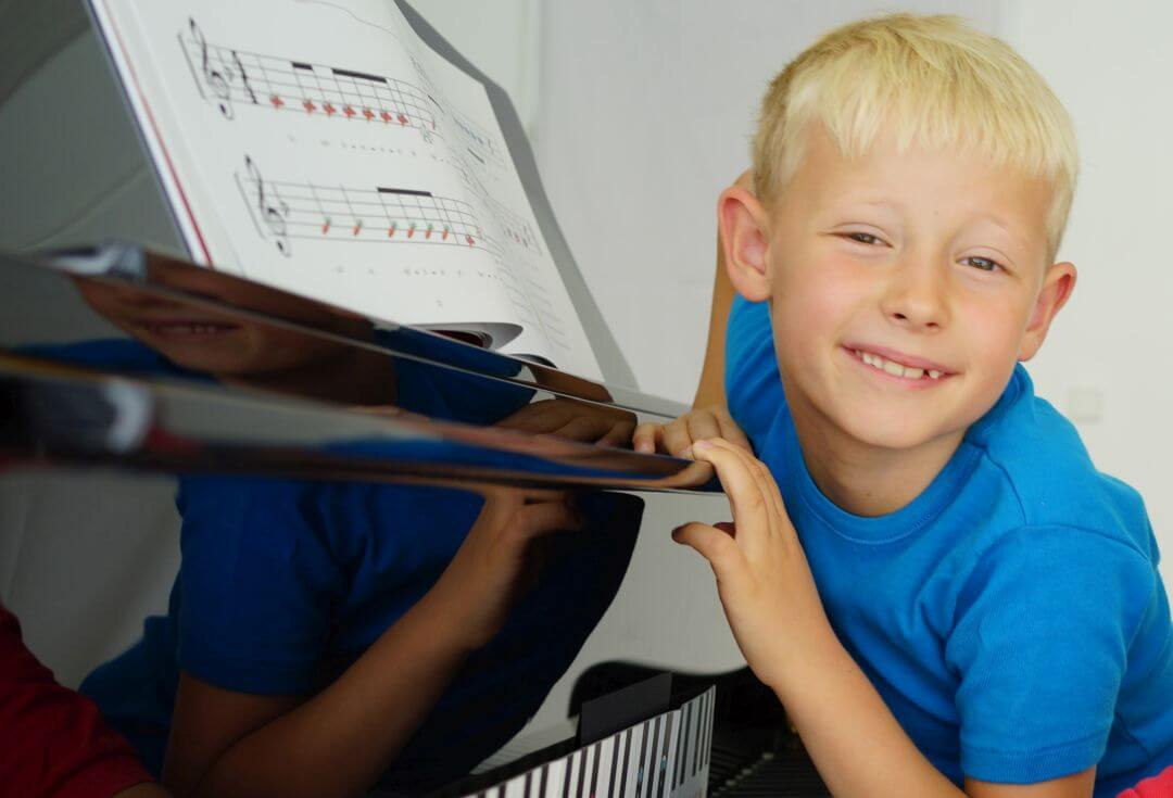 Pianolektioner paa musikskolan