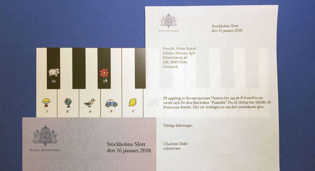 Prinsessan Estelle fick Pianolek