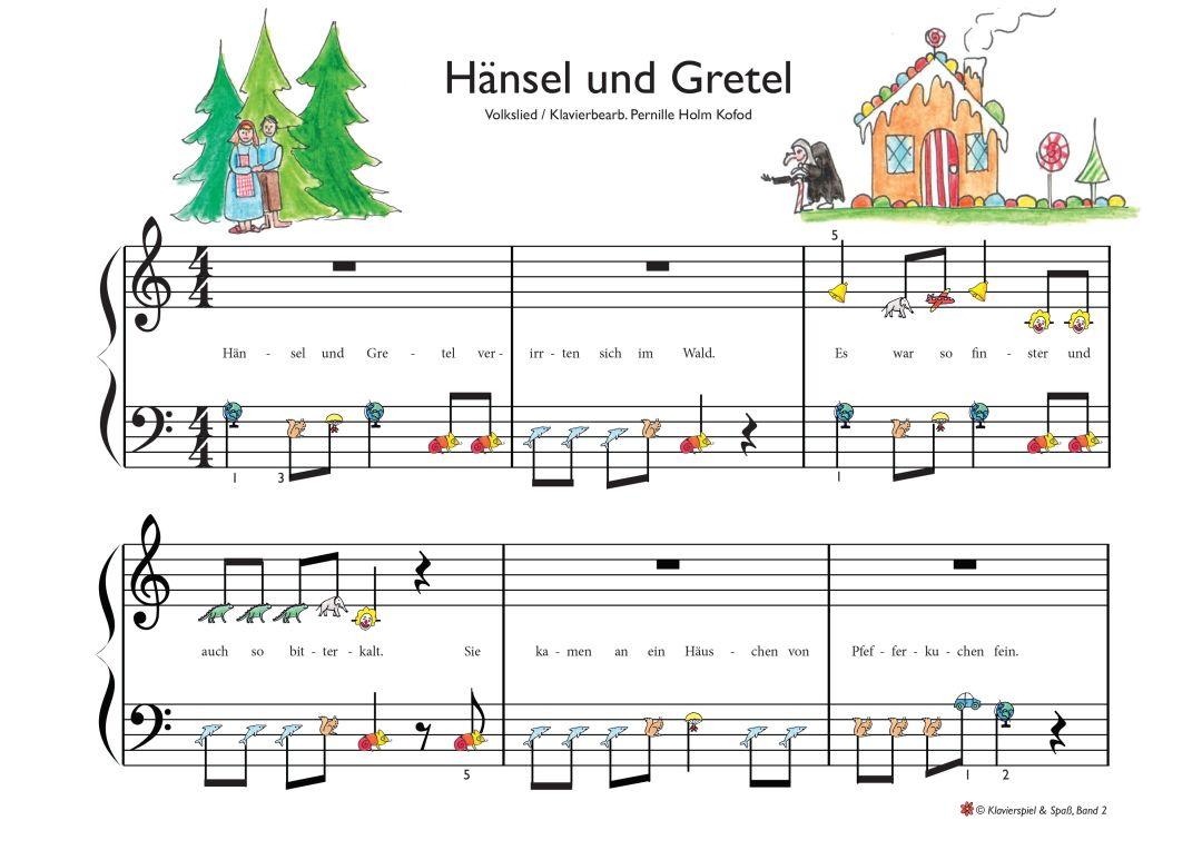 Spela piano haensel und Gretel