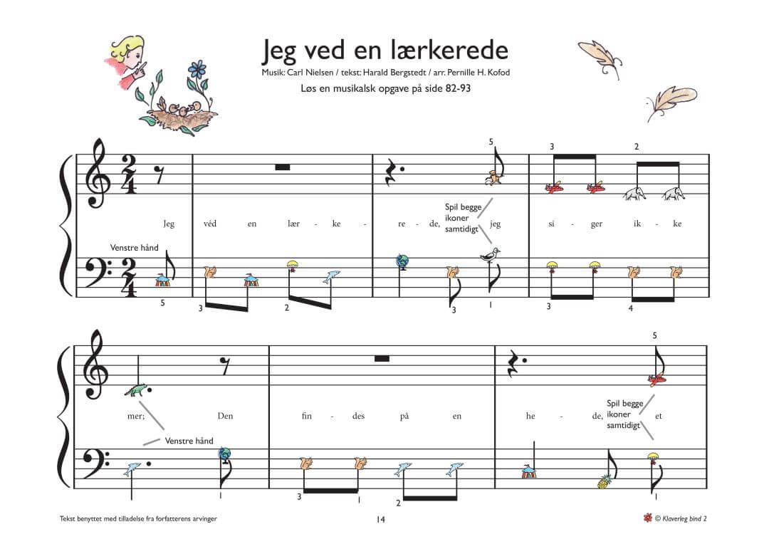 Spela piano paa danska