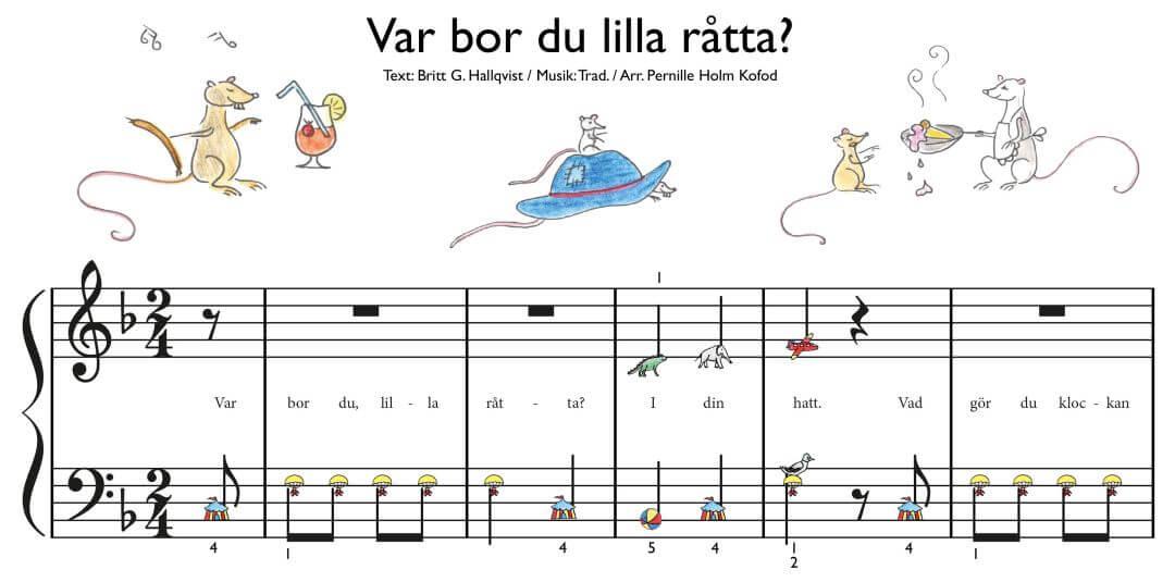 Var bor du lilla Råtta